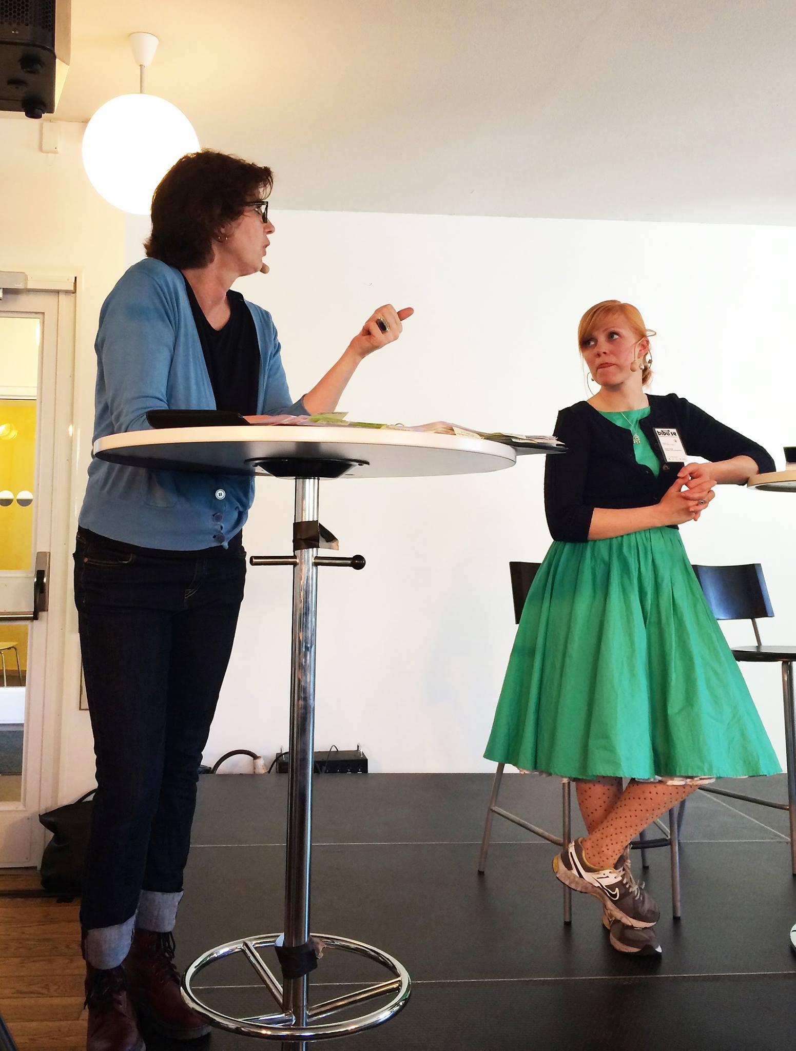 Modererar samtal om NO SVE teater på Bibu kopia