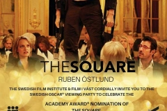 Invitation the square party